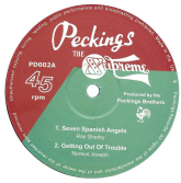 SALE ITEM - Ras Sherby - Seven Spanish Angels / (Peckings) UK 12""